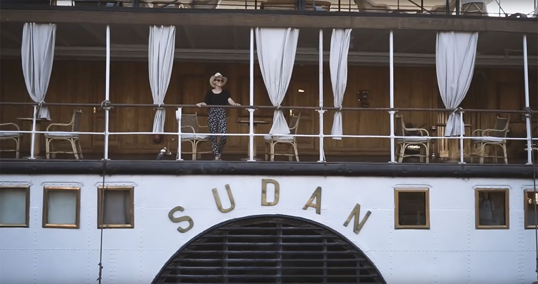 Egypte Steam ship Sudan Juliette Je ne sais pas choisir