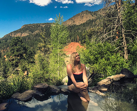 Jemez mountains road trip new mexico spence hot springs