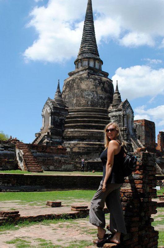 ayutthaya thailande temple