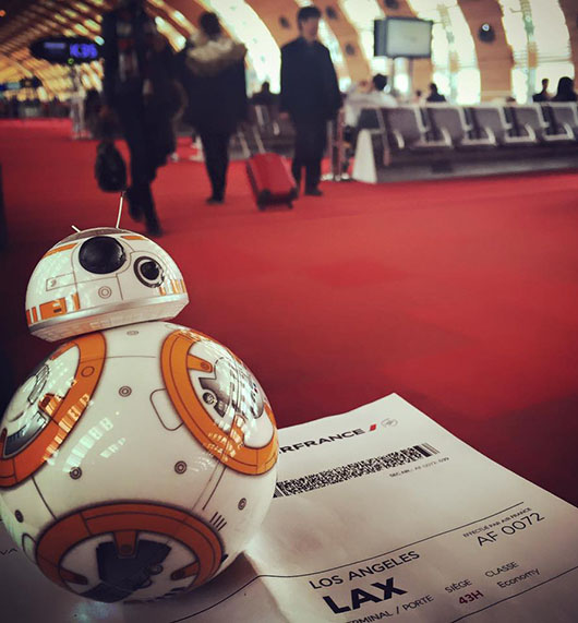 BB8 Avion Paris Lax Star Wars Jouet