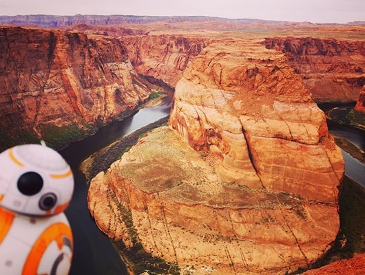 Horseshoe Bend Arizona USA BB8