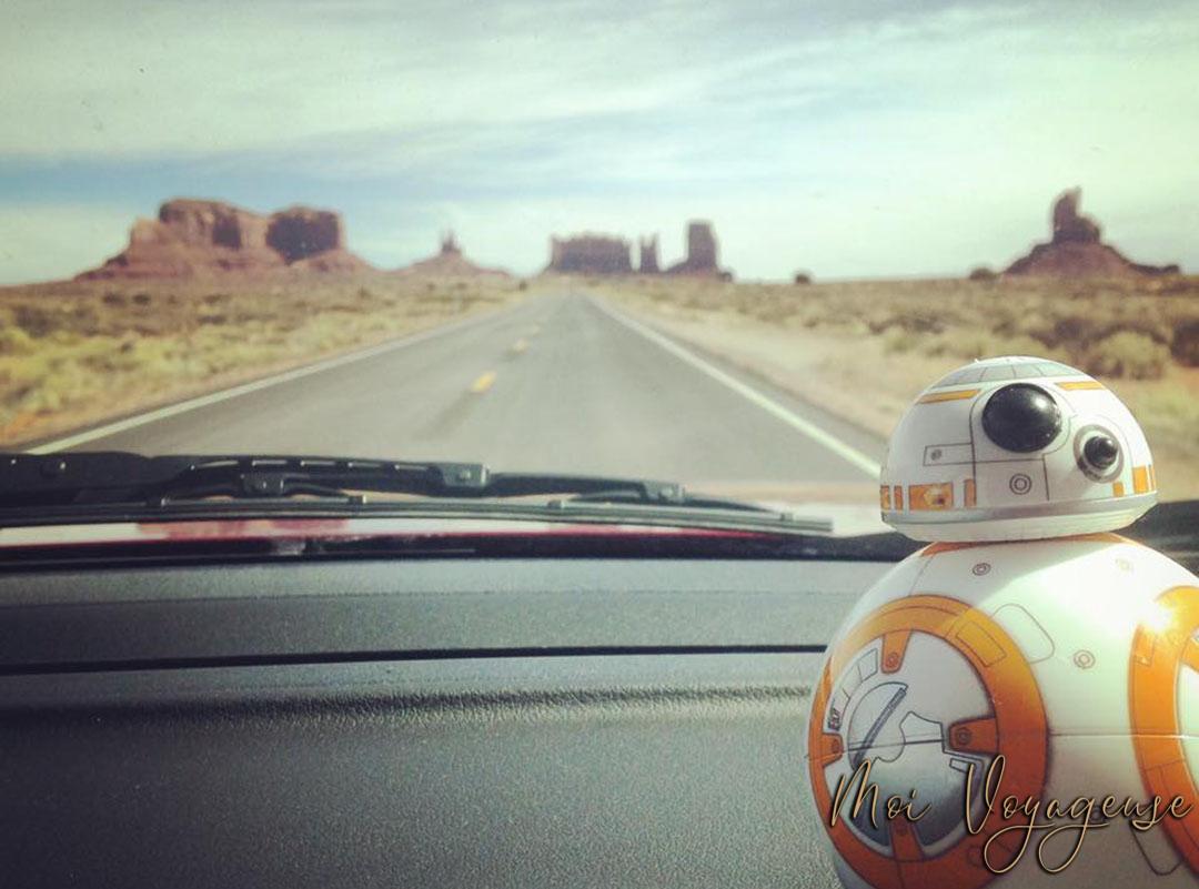 BB8 Monument Valley Arizona Road Trip USA