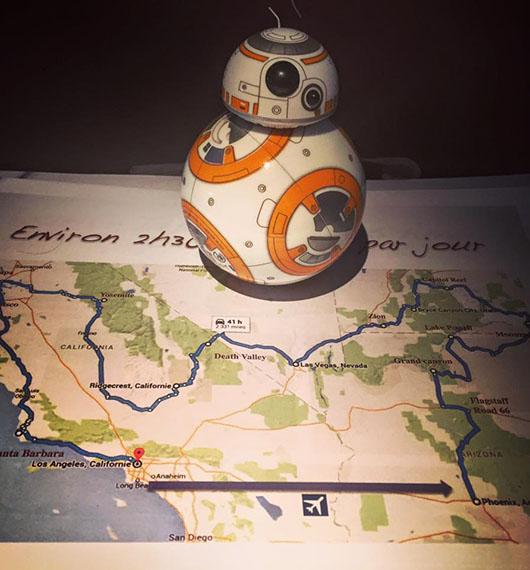 BB8 Road Trip Star Wars Jouet