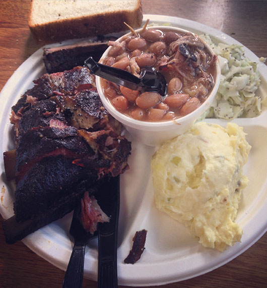Big John's Texas BBQ USA Arizona Page Lake Powell ribs