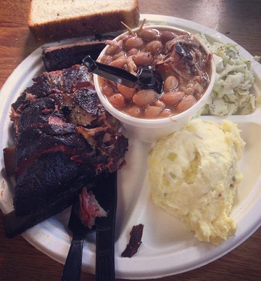 Big John's Texas BBQ USA Arizona Page Lake Powell ribs