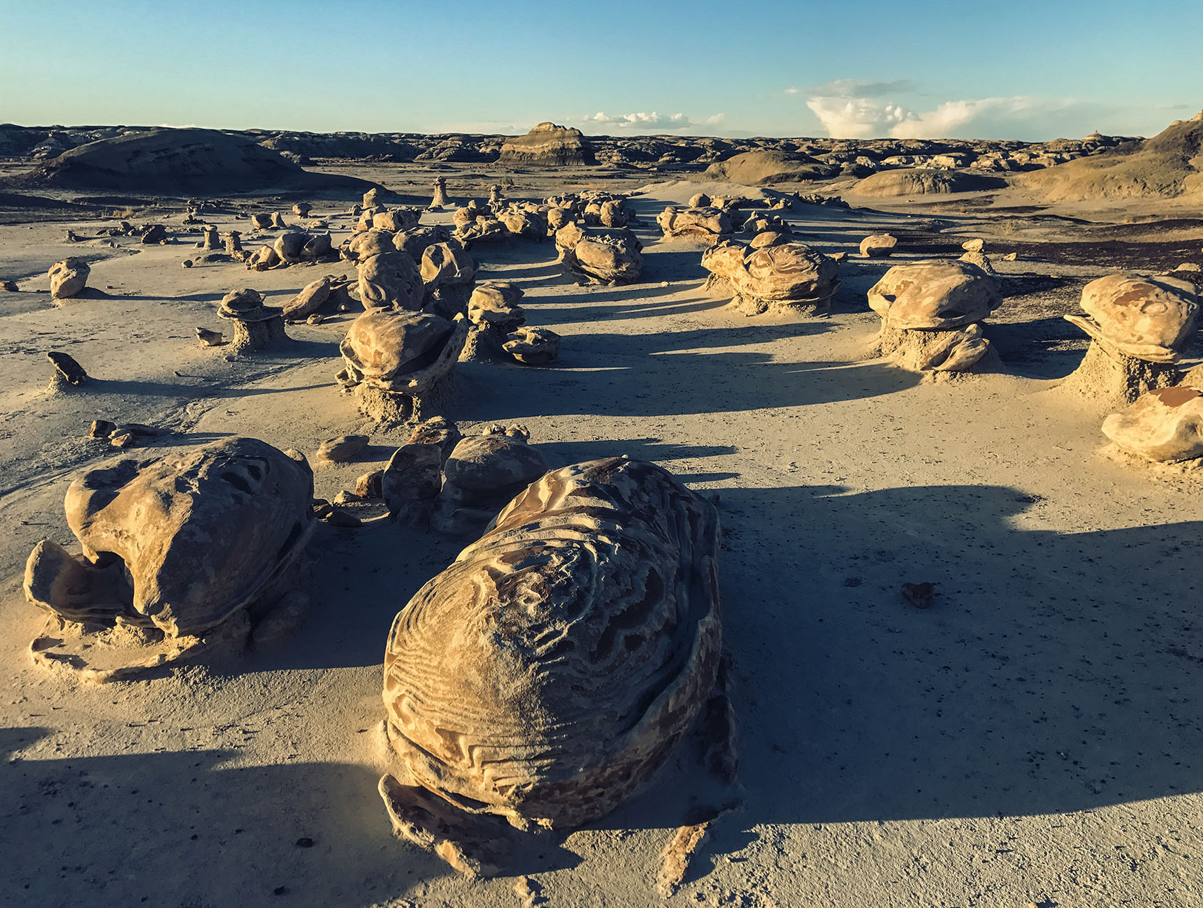 Bisti Badlands New Mexico Road Trip randonnée