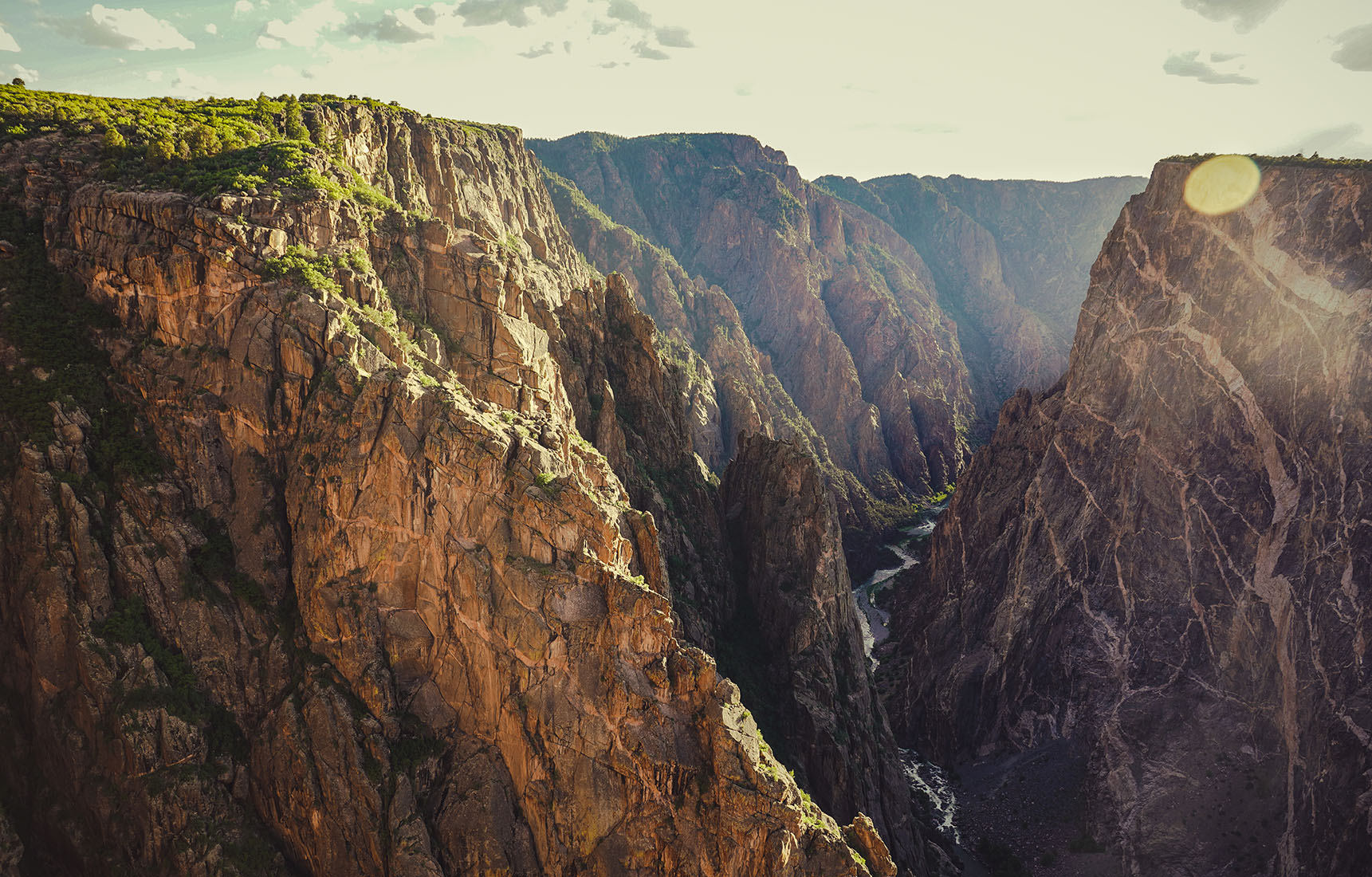 Colorado Black Canyon of the Gunnison road trip itinéraire