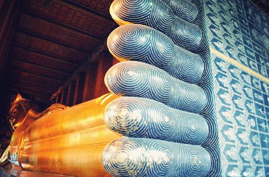 Wat Po Bouddha couché