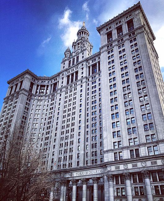 Building Financial District New York Manhattan architecture