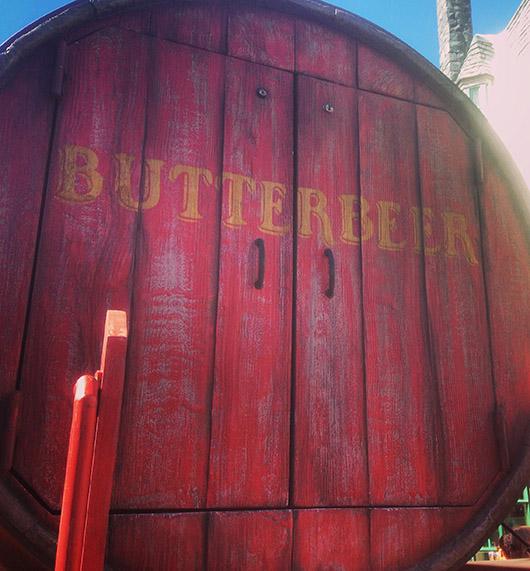 Butterbeer universal studios hollywood harry potter