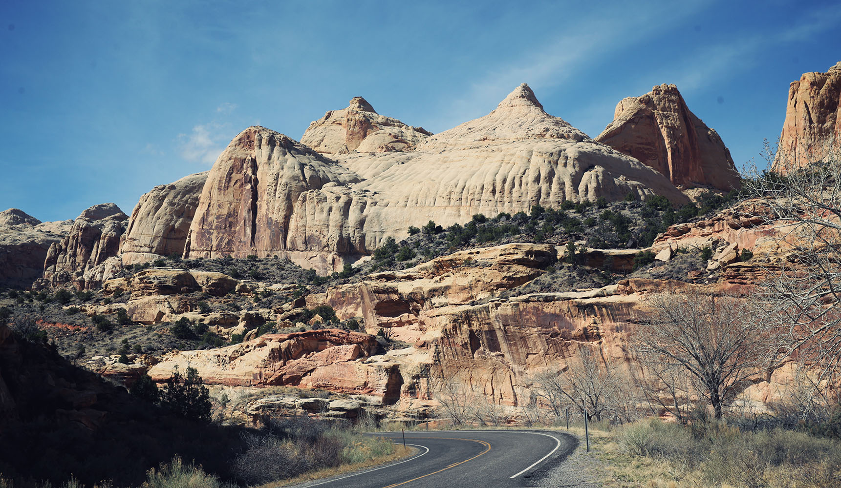 Capitol Reef National Park Utah USA Road trip Fruita