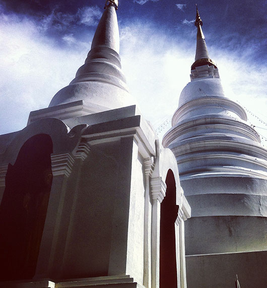 chiang mai old city temple thailand