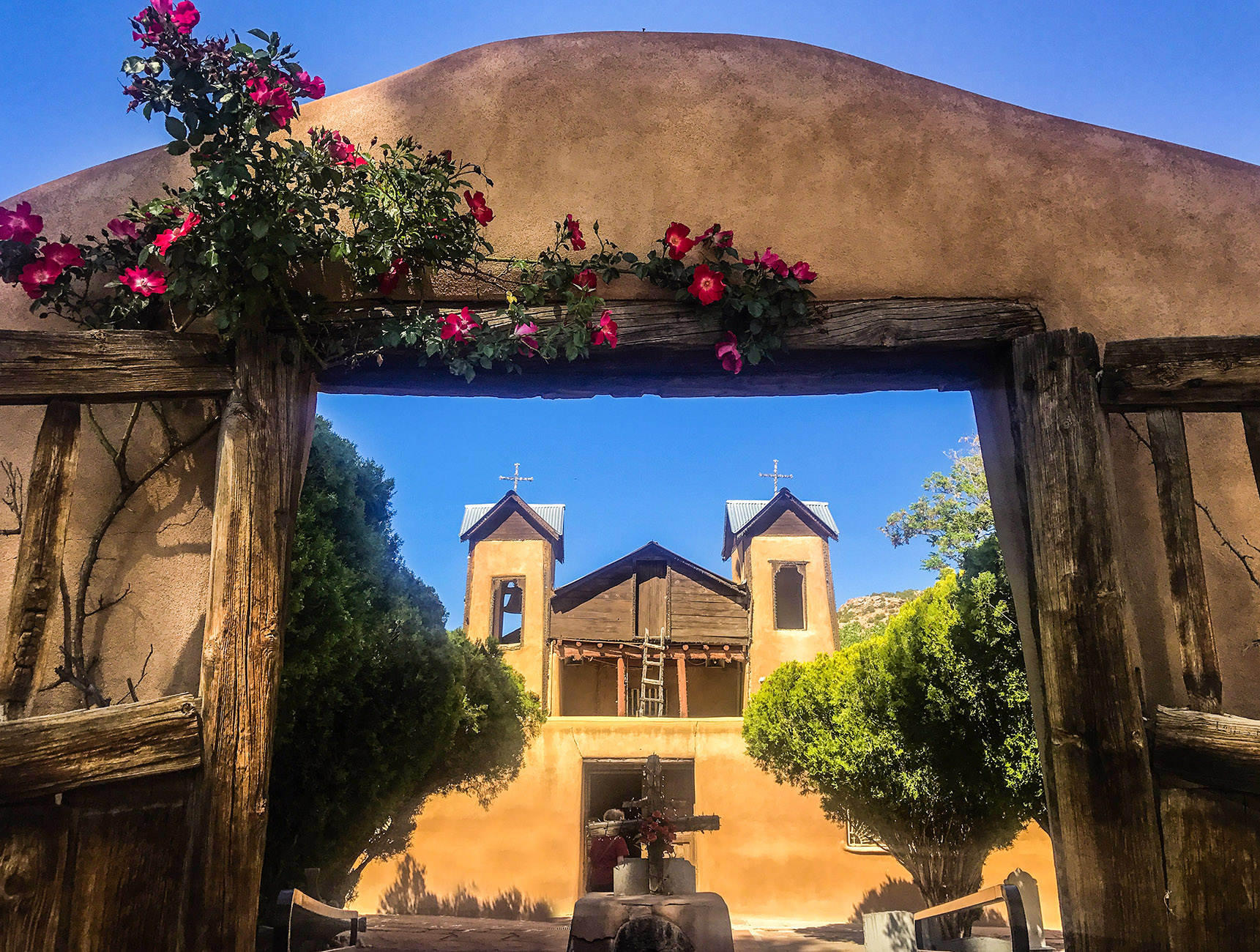 Chimayo sanctuaire nouveau mexique road trip usa