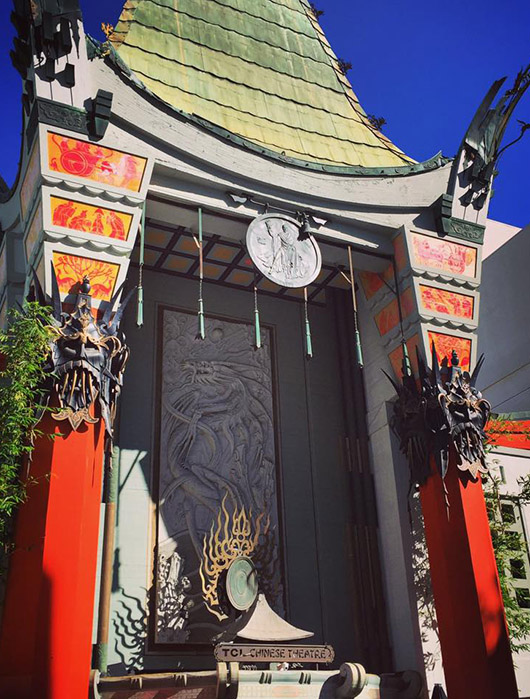 Chinese theatre hollywood boulevard los angeles