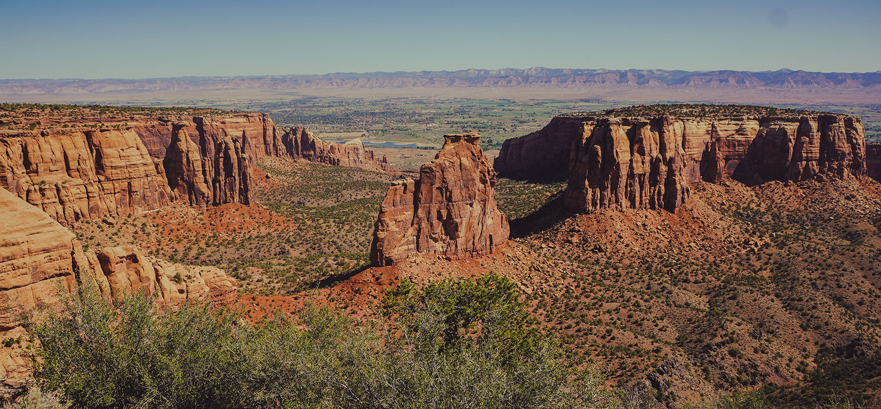 Colorado national monument road trip itinéraire