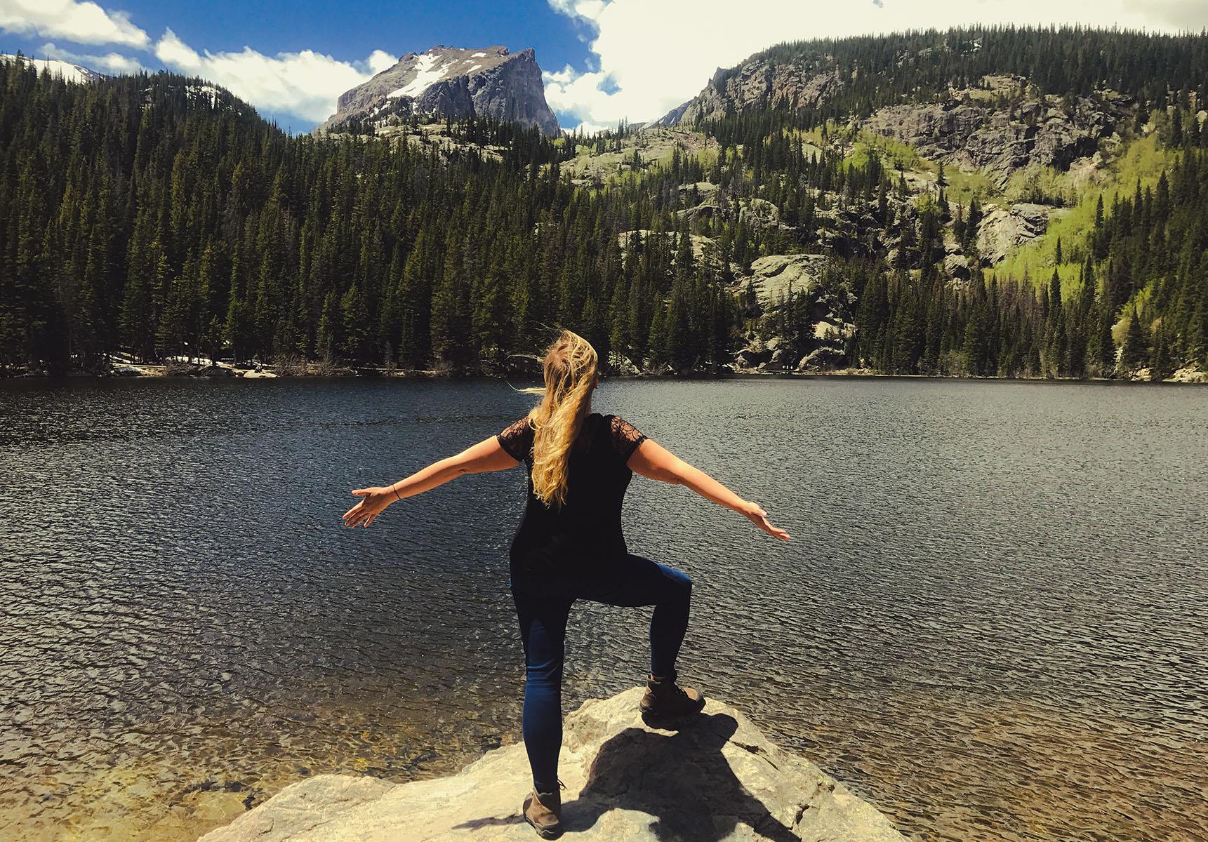 Colorado Rocky mountain national park road trip itinéraire