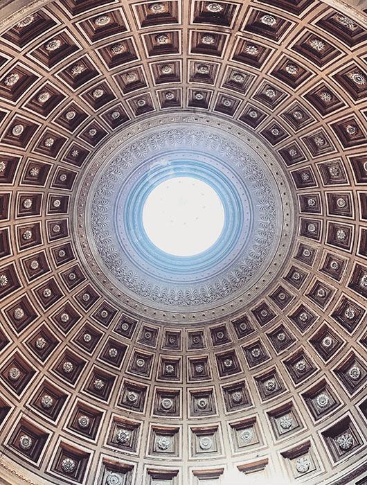 Coupole musées du vatican rome italie
