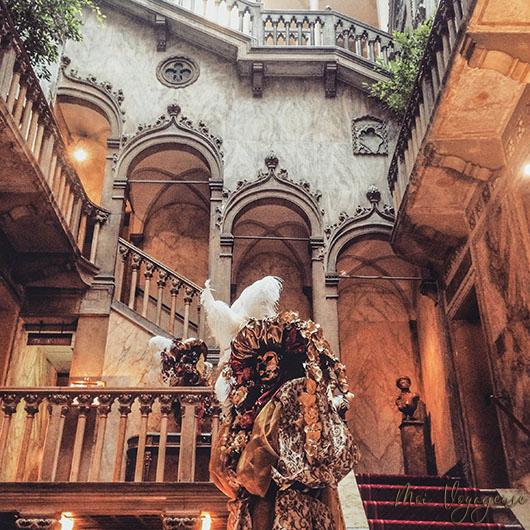 Danieli Venise Hotel Italie Palace escalier