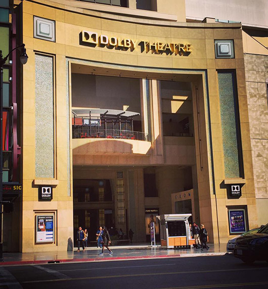 Dolby theatre hollywood boulevard los angeles