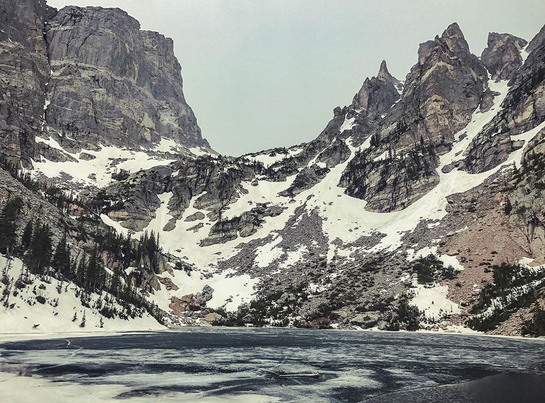 Colorado Emerald Lake Rocky Mountain National Park road trip itinéraire