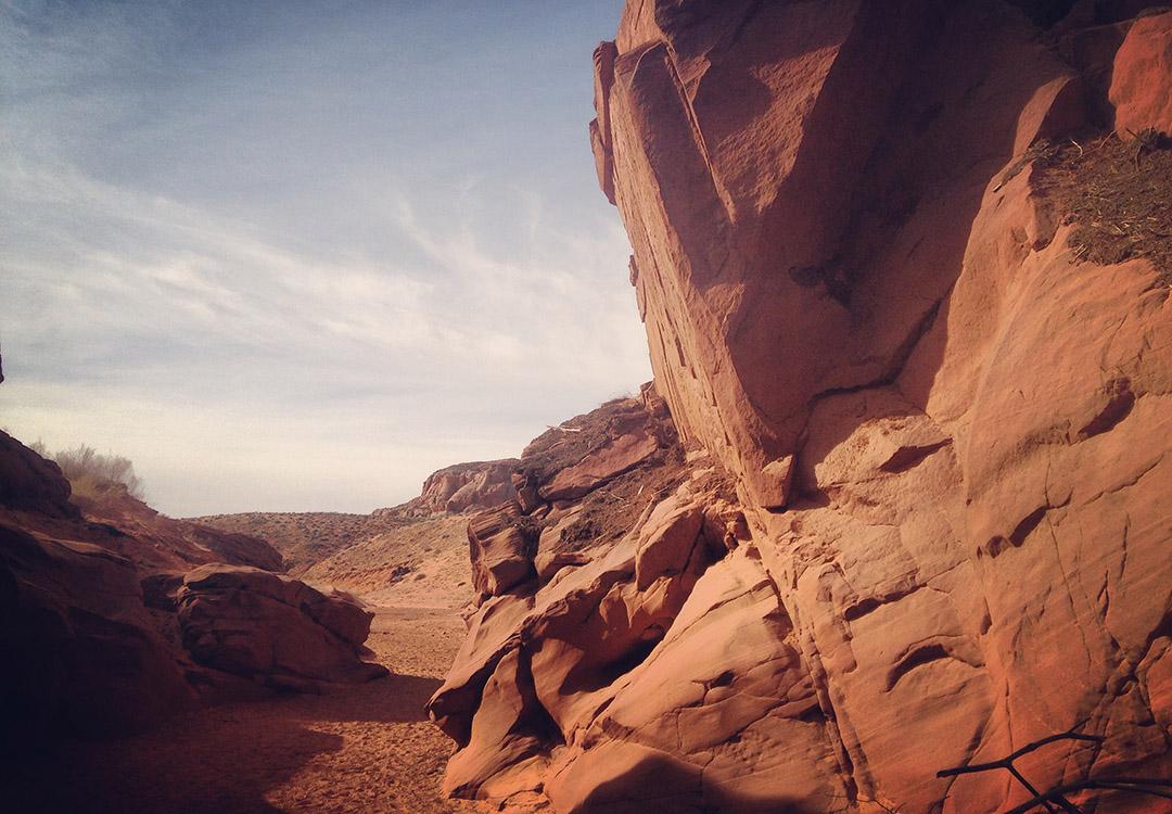 Exterieur Antelope Canyon Arizona USA