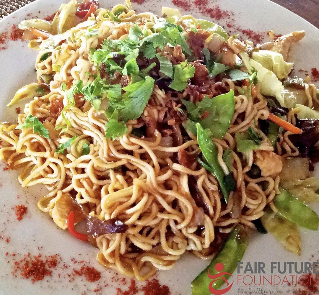 Fair Warung Balé Bali Ubud Indonésie Mie Goreng