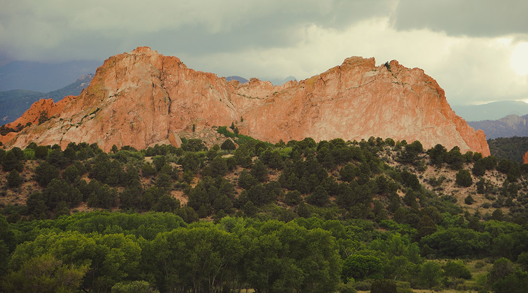 Colorado Garden of the Gods road trip itinéraire