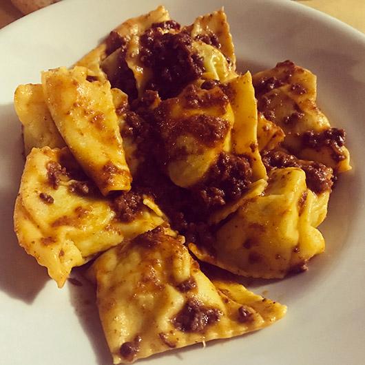 Gastronomie italie toscane restaurant conseil tortelli di patate