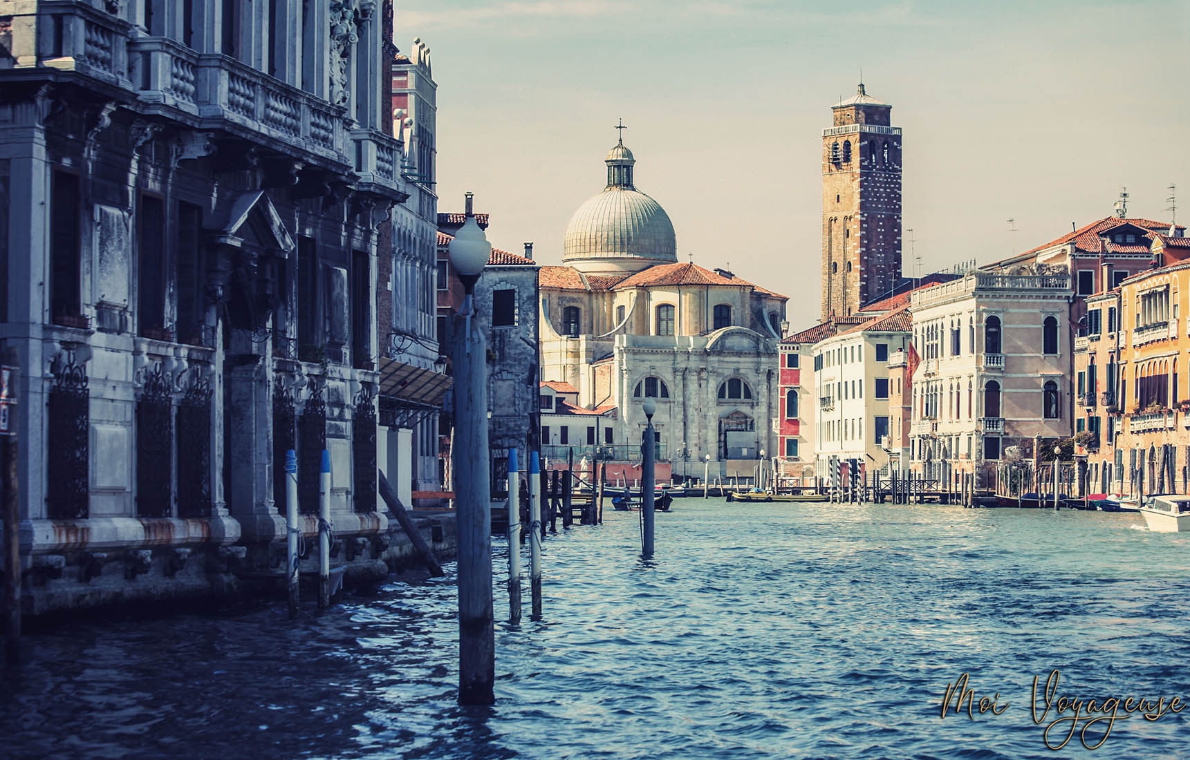 Grand Canal de Venise Italie Europe gare