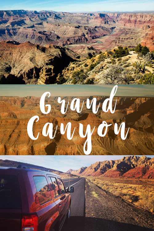 Grand Canyon National Park Arizona USA Road trip
