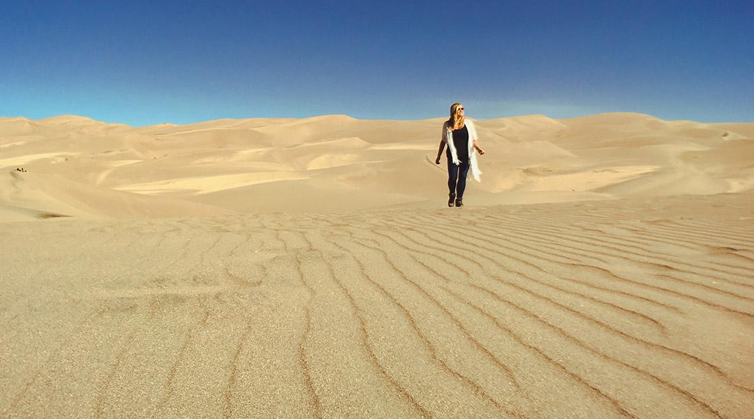 Colorado Great Sand Dunes road trip itinéraire