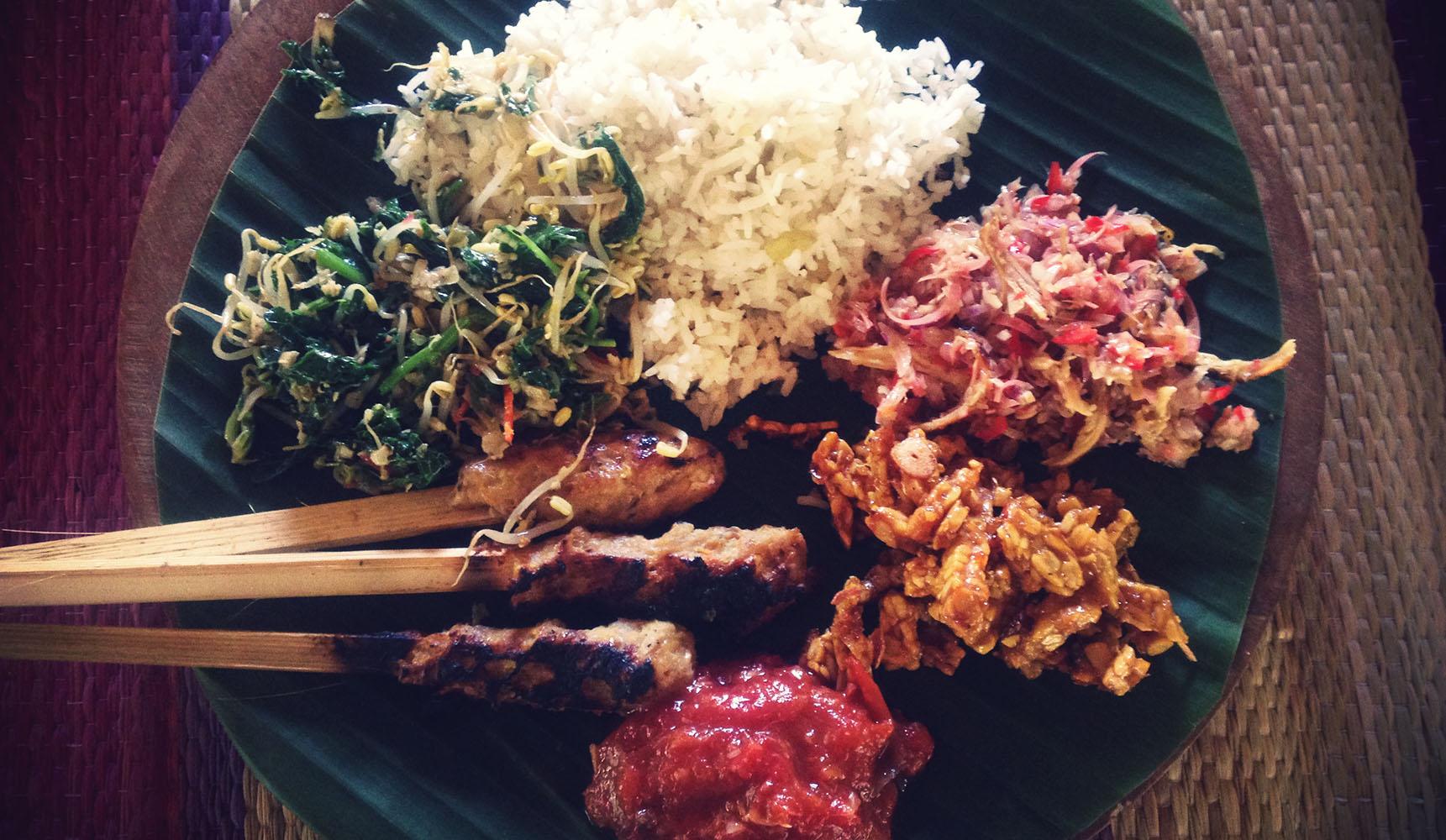 Green Kitchen cooking class sidemen bali indonesia
