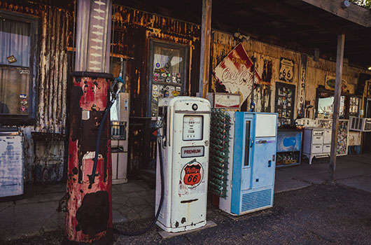 Hackberry general store arizona route 66 road trip USA