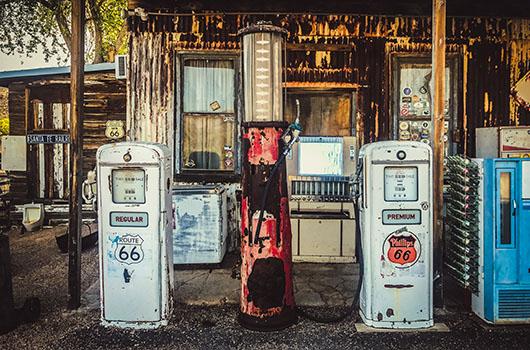 Hackberry general store arizona route 66 road trip USA