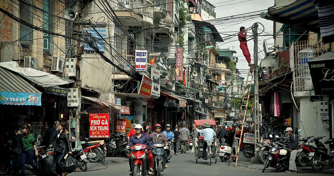 Hanoi Street vietnam