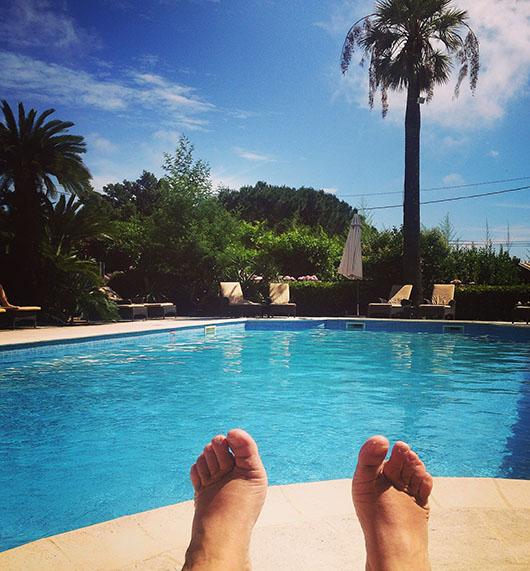 La croix valmer hotel l'orangeraie piscine