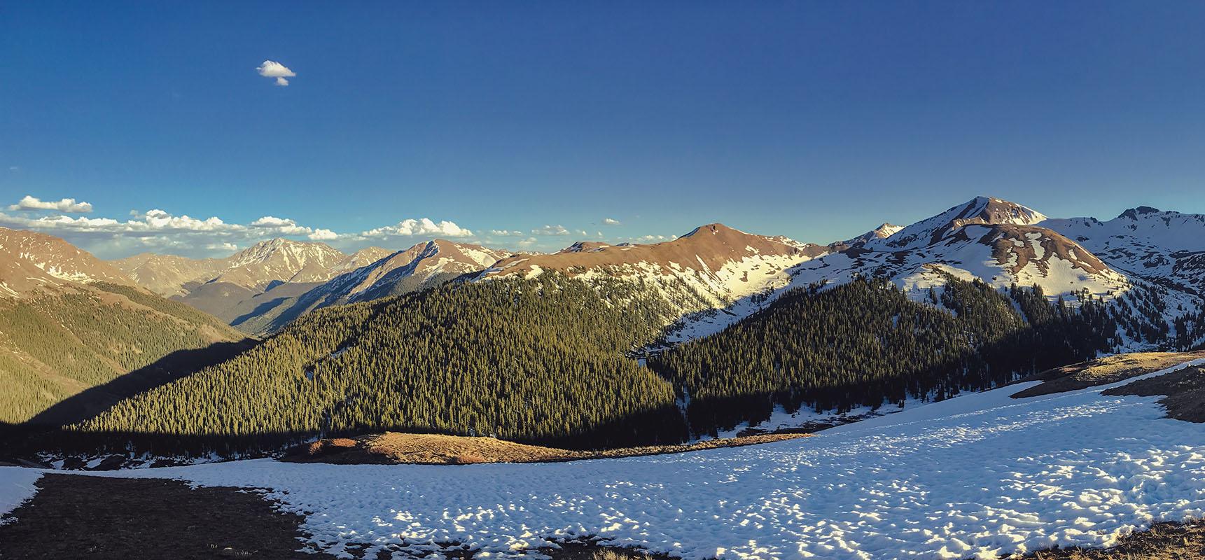 Colorado aspen rocheuses road trip itinéraire