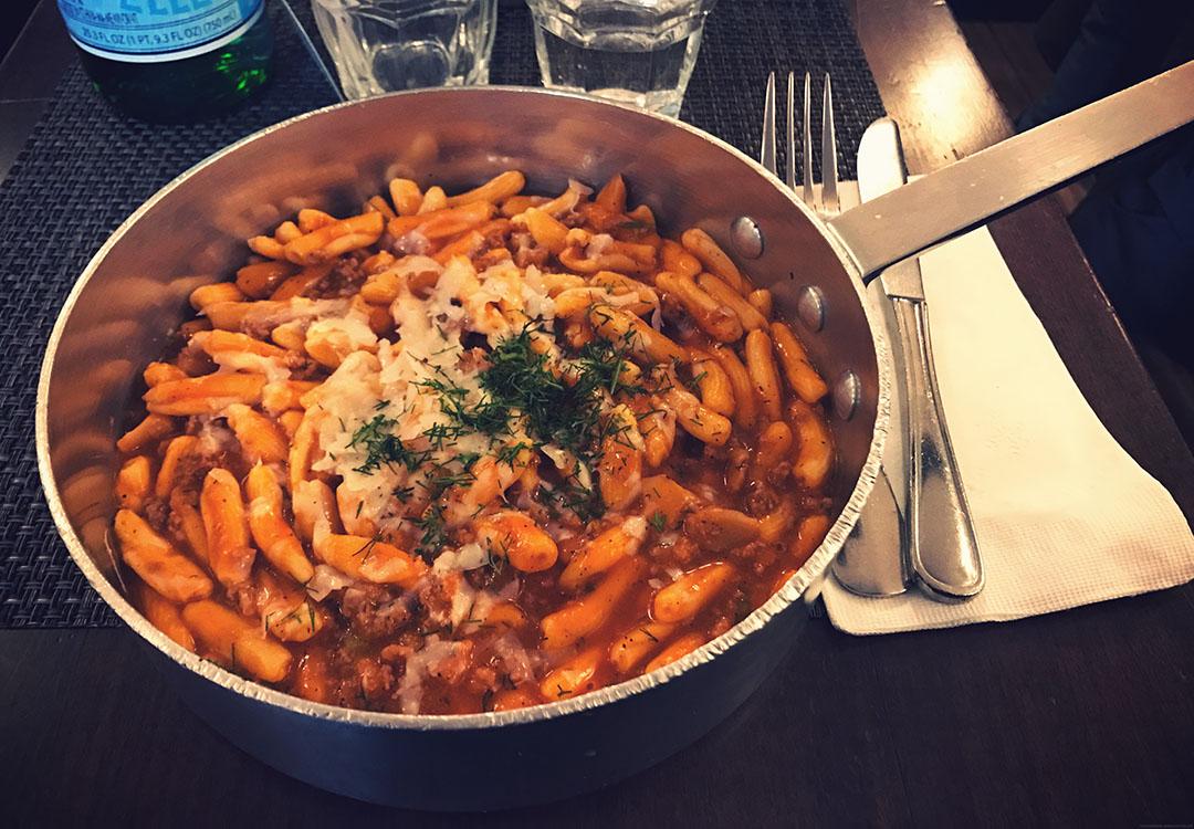 Piccola Cuccina new york city soho manhattan best italian restaurant pasta