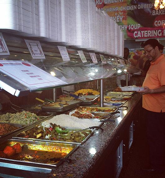 Jacobs soul food salad bar restaurant harlem new york best food live music