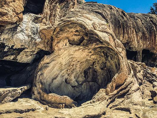 Jemez mountains road trip new mexico soda dam