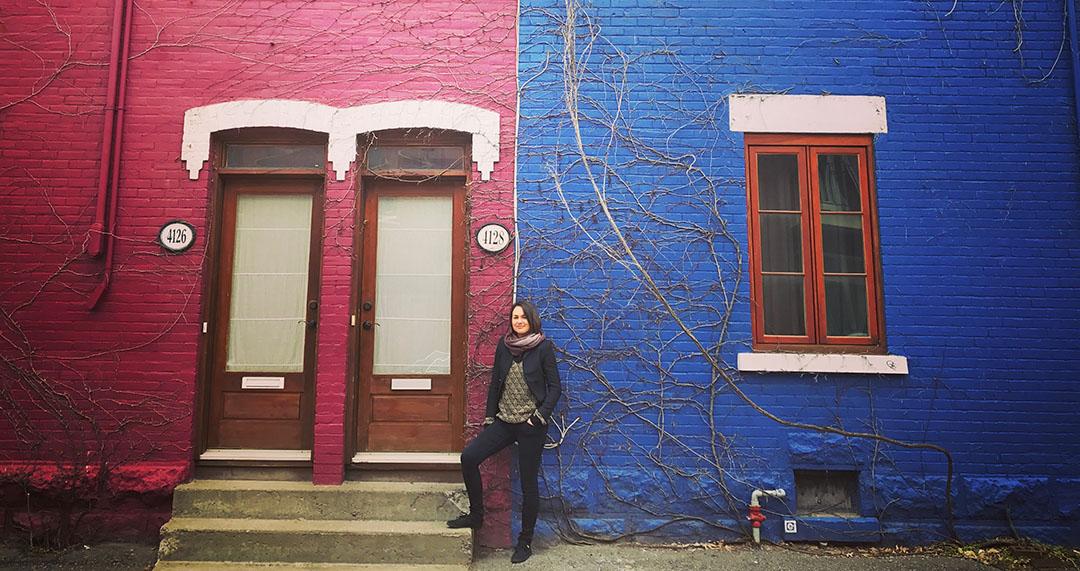 Justine Expatriée Française Montreal Canada Quebec Street Style Interview maison plateau mont royal