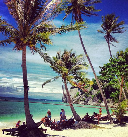 Koh phangan haad rin full moon party beach thailand coconut hotel