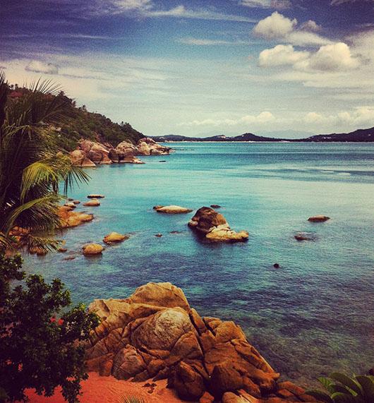 Koh samui beach thailande