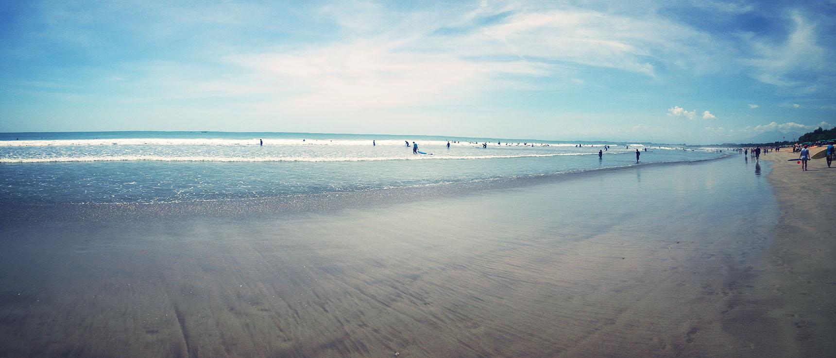Kuta beach bali indonesia asia surf