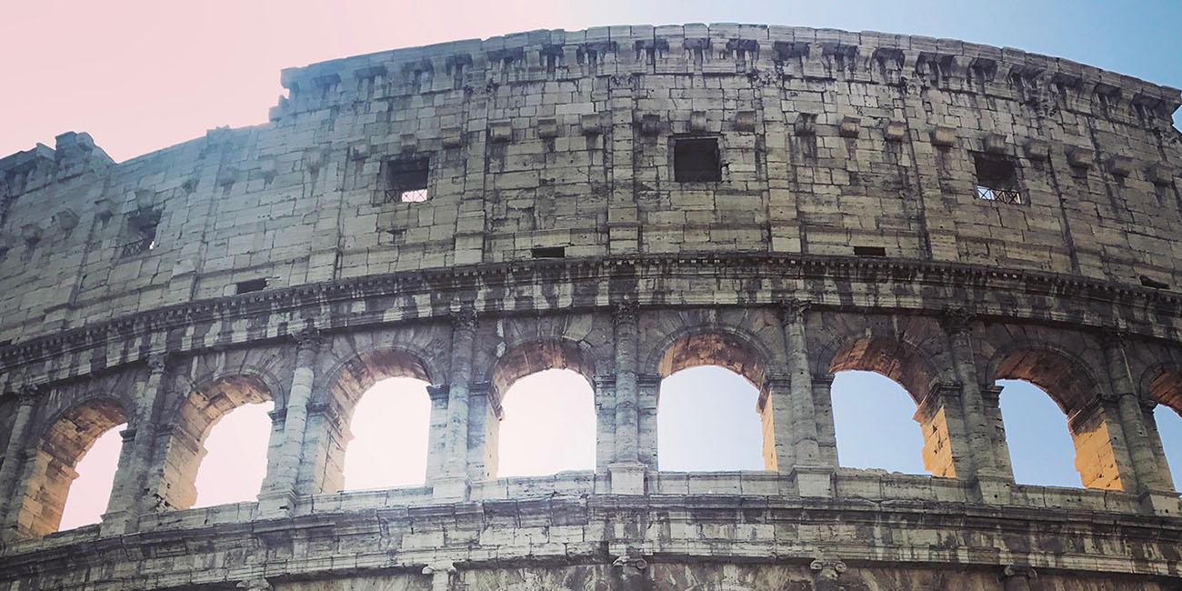Colisée Extérieur Rome Italie
