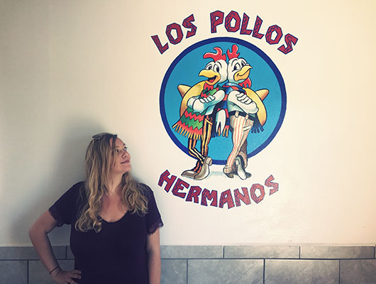 Breaking bad tour Albuquerque lieux de tournage los pollos hermanos
