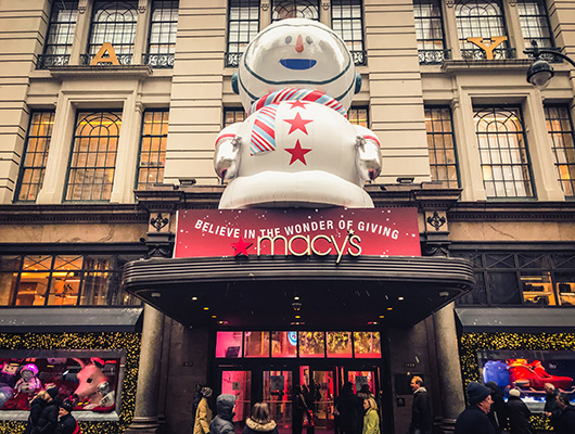 Macy's new york santa land