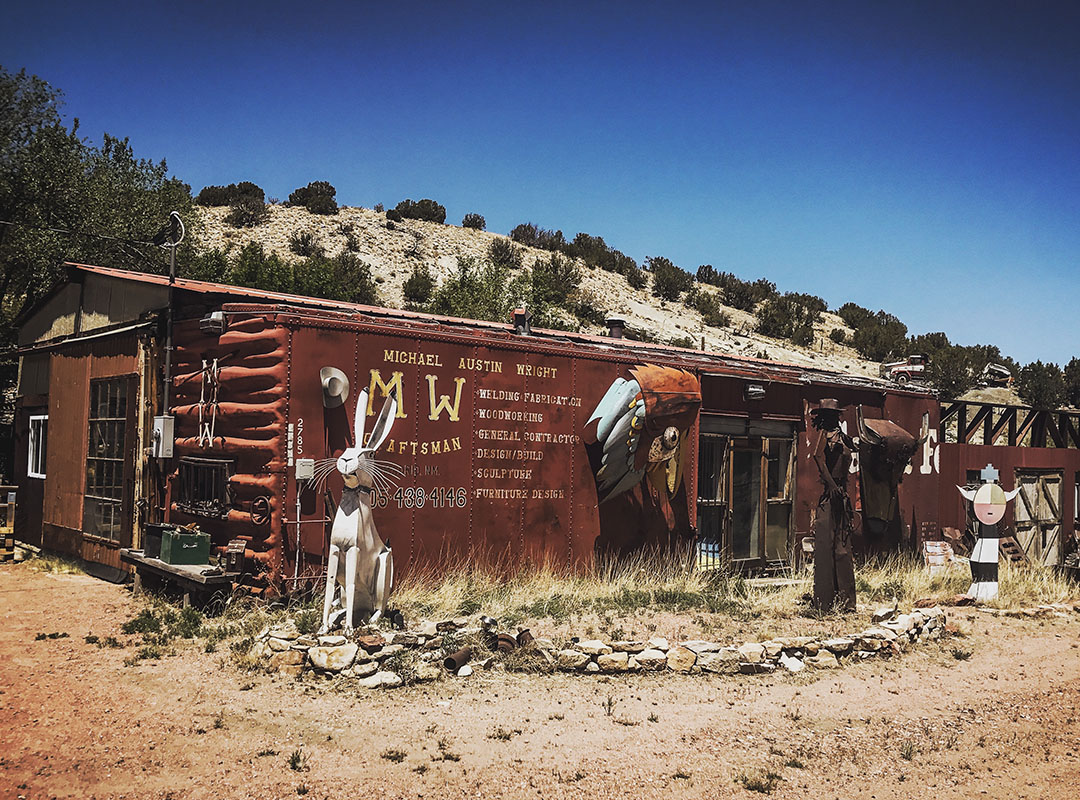 Madrid Turquoise trail New Mexico