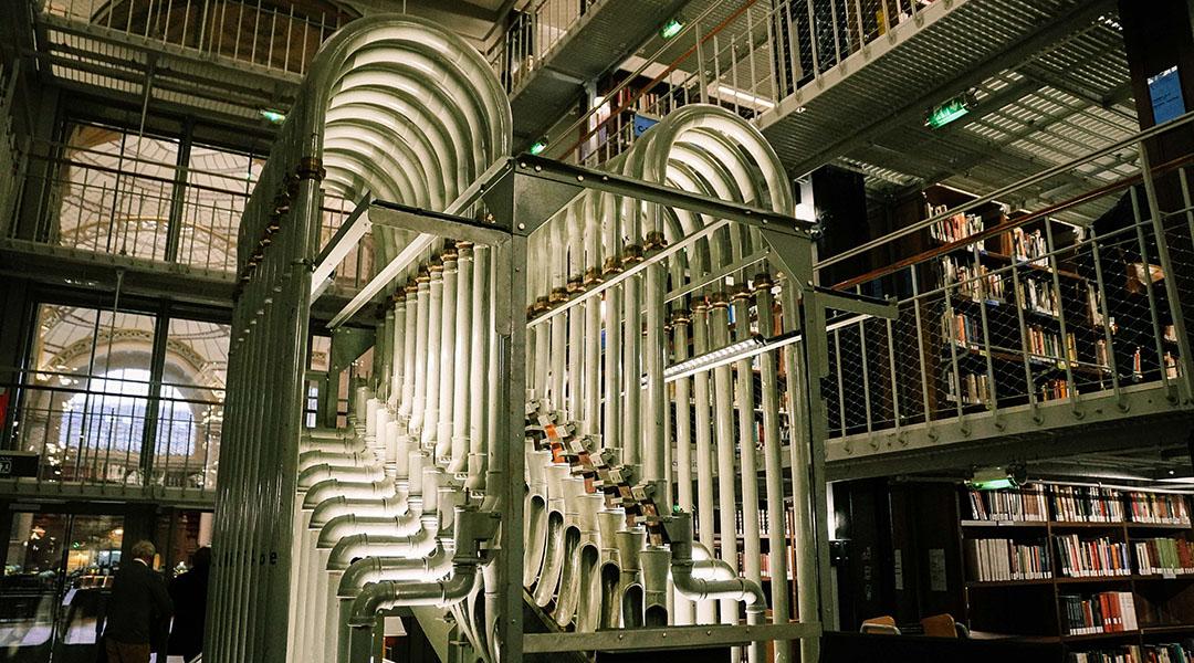 Bibliothèque Richelieu BNF Paris Magasin Central