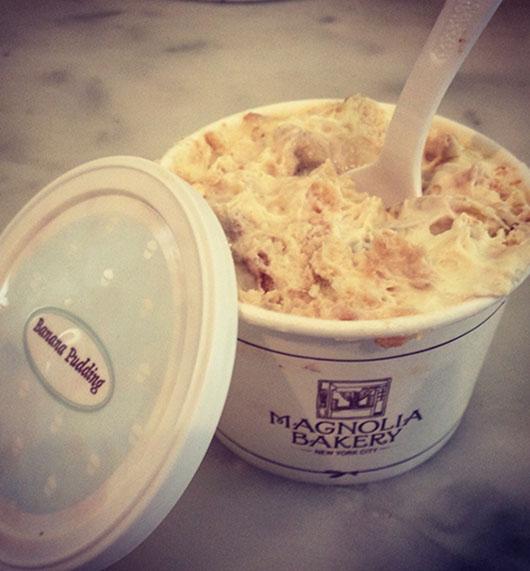 Magnolia Bakery Banana Pudding Dessert Food New York